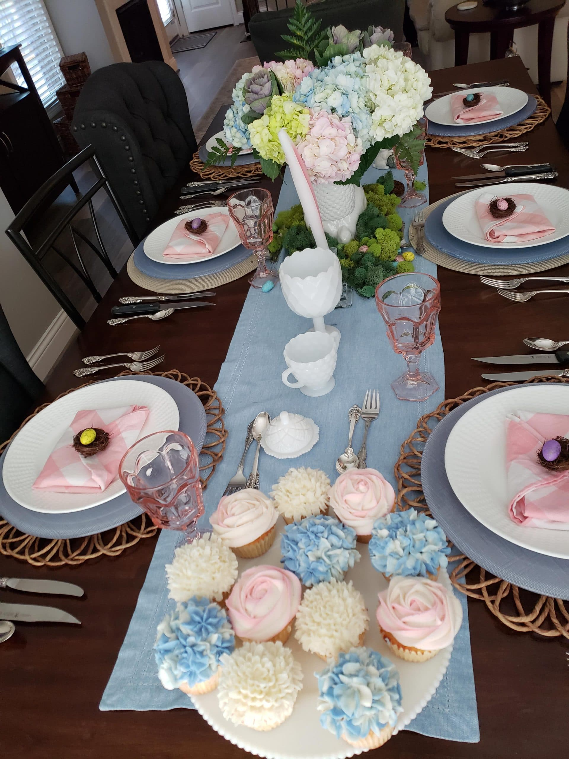 A sample of our formal Easter setting.