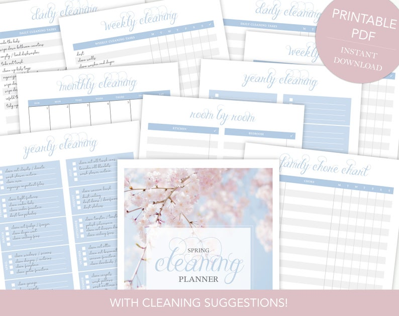 Spring Cleaning Binder