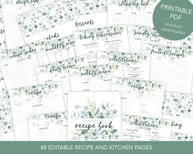 Ultimate Recipe Binder